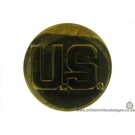 B1B/13 - United States Army American US Collar Badge