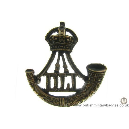 B1B/31  Durham Light Infantry DLI Regiment OFFICERS Collar Badge