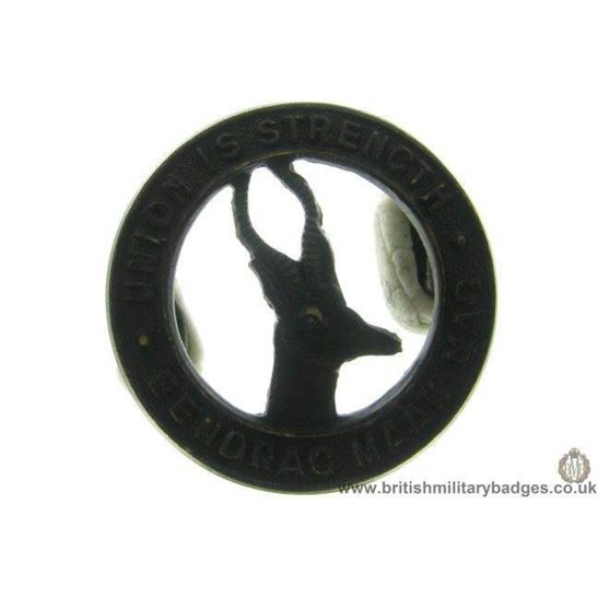 B1B/40 - South African Corps / Africa Division Collar Badge