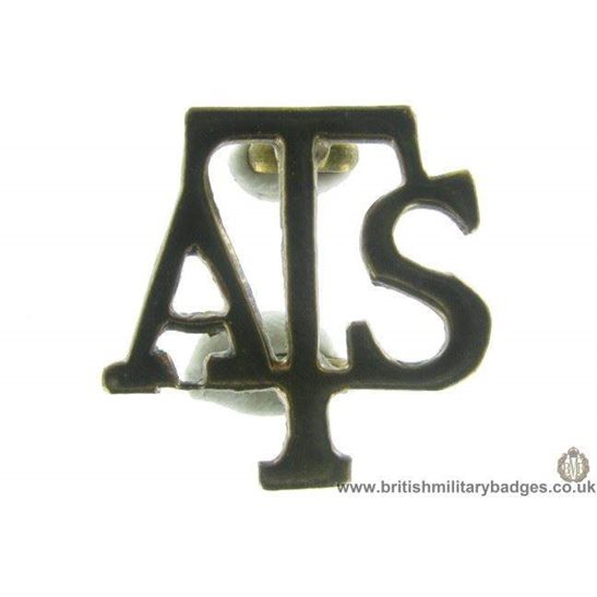 B1B/79 - Auxiliary Territorial Service Corps ATS Collar Badge
