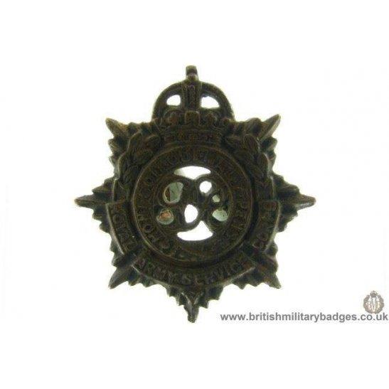 B1B/80 - Royal Army Service Corps RASC Collar Badge