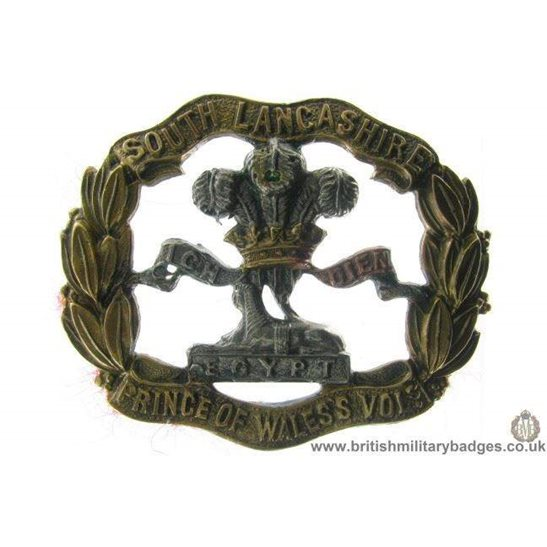 A1A/04 - South Lancashire Regiment Cap Badge