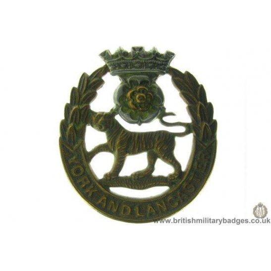 A1A/05 - York & Lancaster Regiment Cap Badge