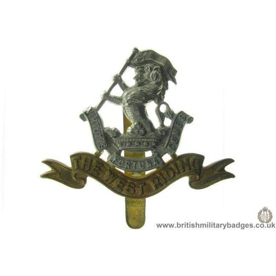 A1A/06 - West Riding Regiment Cap Badge