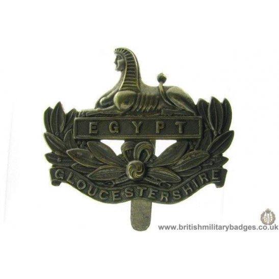 A1A/08 - The Gloucestershire / Gloucester Regiment Cap Badge
