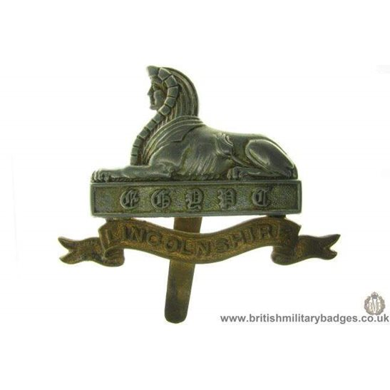 A1A/21 - Lincolnshire Regiment Cap Badge