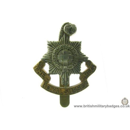 A1A/28 - The Royal Sussex Regiment Cap Badge
