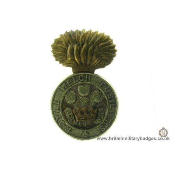 A1A/35 - Royal Welch / Welsh Fusiliers RWF Regiment Cap Badge