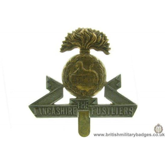 A1A/48 - The Lancashire Fusiliers Regiment Cap Badge