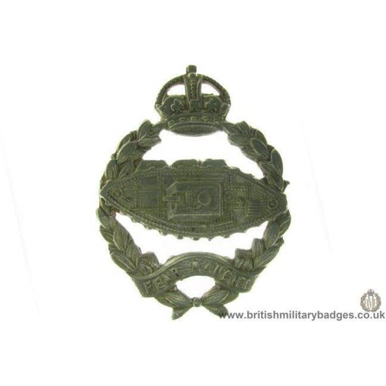A1A/52 - Royal Tank Regiment / Corps Cap Badge