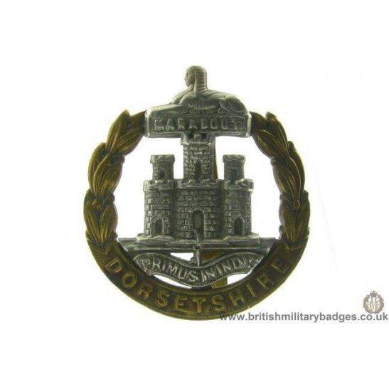 A1A/53 - Dorsetshire / Dorset Regiment Cap Badge