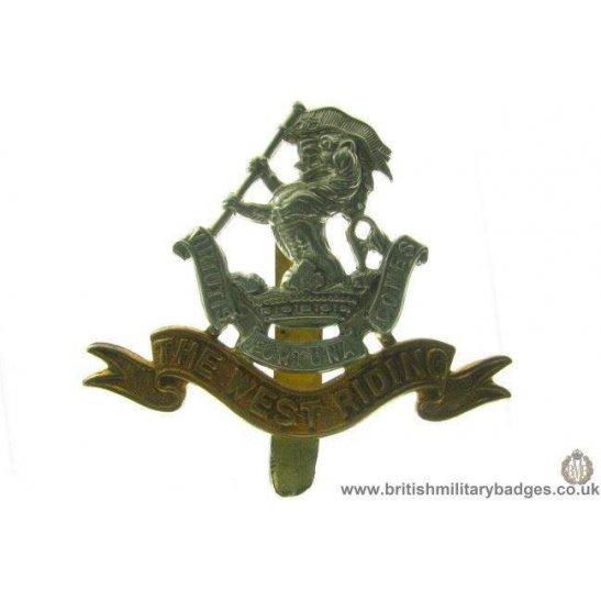 A1A/54 - West Riding Regiment Cap Badge