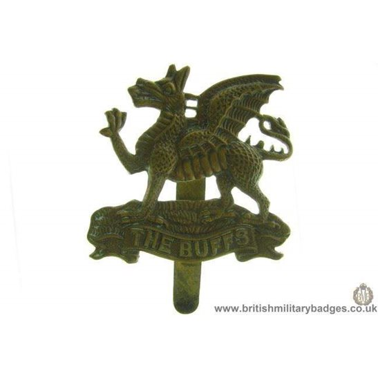 A1A/60 - The Buffs Royal East Kent Regiment Cap Badge
