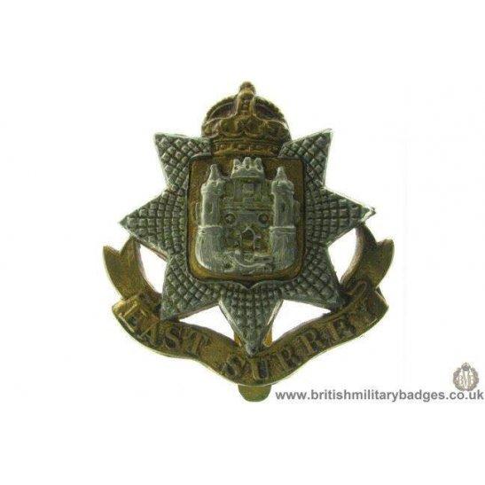 A1A/76 - East Surrey Regiment Cap Badge