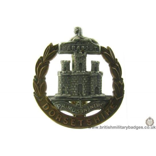 A1A/78 - Dorsetshire / Dorset Regiment Cap Badge