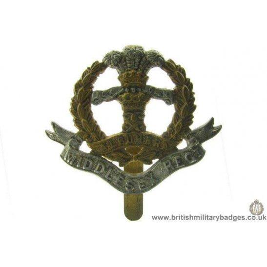 A1A/81 - Middlesex Regiment Cap Badge