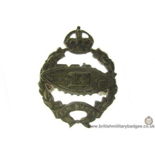 A1A/84 - Royal Tank Regiment / Corps Cap Badge