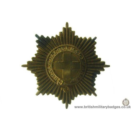 A1A/89 - Coldstream Guards Regiment Cap Badge