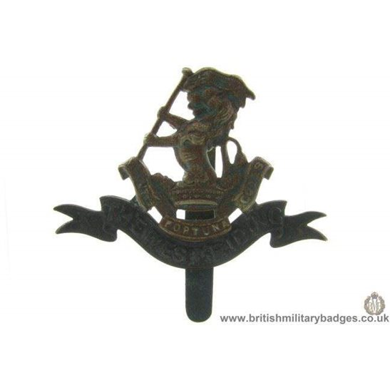 A1B/04 - West Riding Regiment Cap Badge
