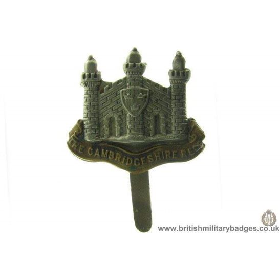 A1B/06 - The Cambridgeshire Regiment Cap Badge