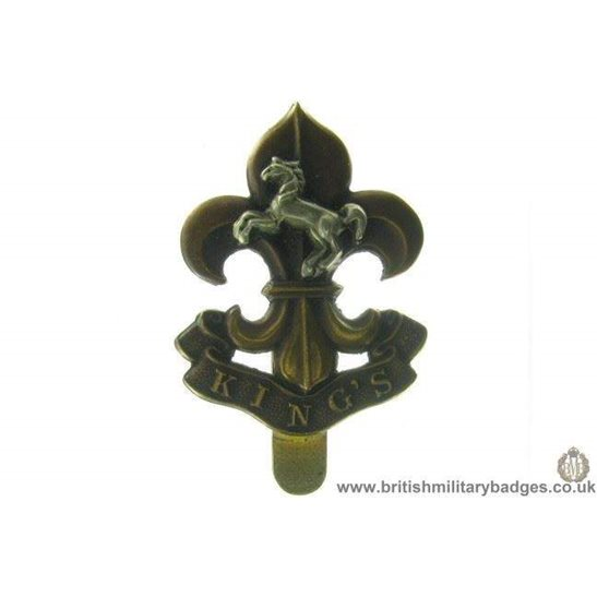 A1B/14 - The King's / Kings Liverpool Regiment Cap Badge