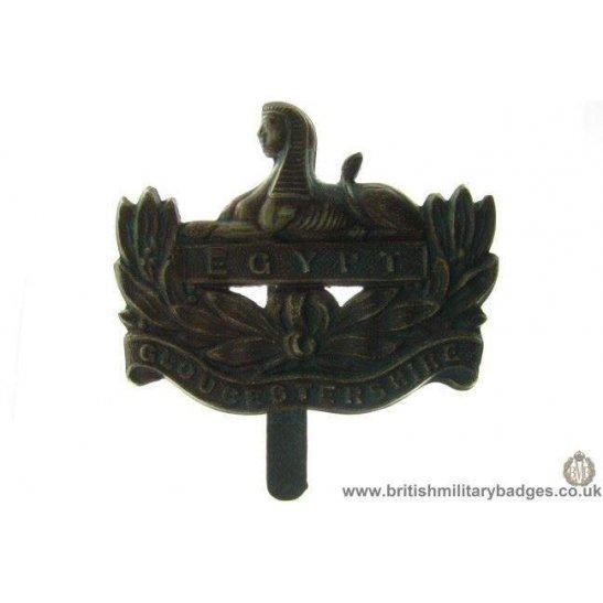 A1B/18 - The Gloucestershire / Gloucester Regiment Cap Badge