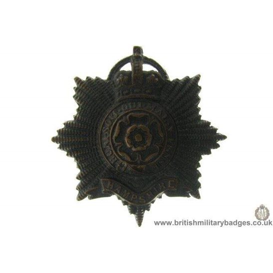 A1B/36 - The Hampshire Regiment OFFICERS Cap Badge