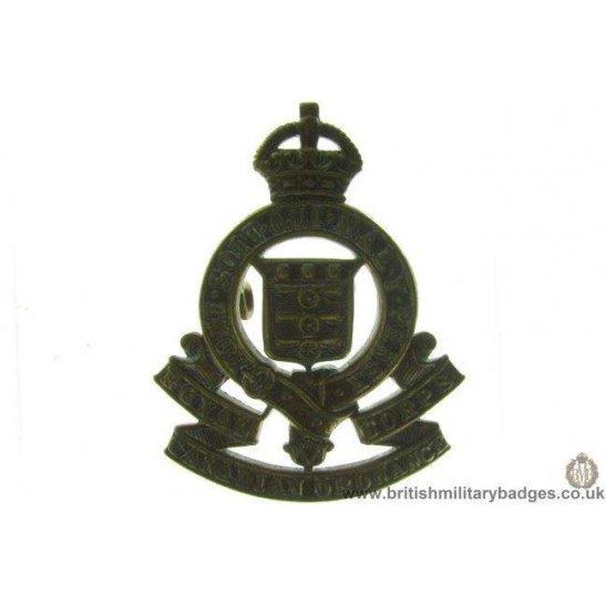 A1B/51 - Royal Army Ordnance Corps RAOC Cap Badge
