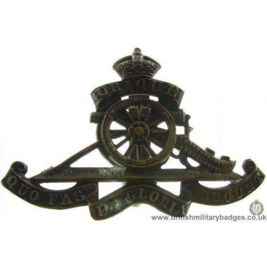 A1B/62 - Royal Artillery Regiment Cap Badge