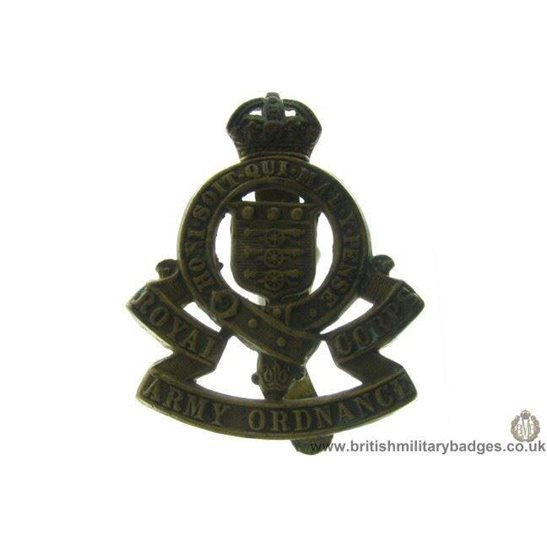 A1B/72 - Royal Army Ordnance Corps RAOC Cap Badge