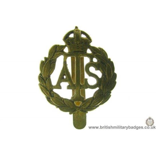 A1B/80 - Auxiliary Territorial Service ATS Cap Badge