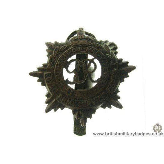 A1B/83 - Royal Army Service Corps RASC Cap Badge
