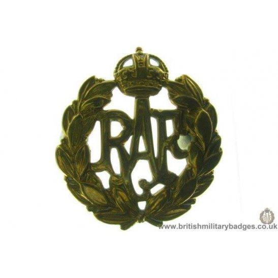 A1B/86 - Royal Air Force RAF Cap Badge