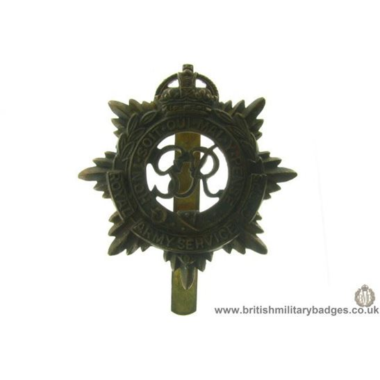 A1B/88 - Royal Army Service Corps RASC Cap Badge