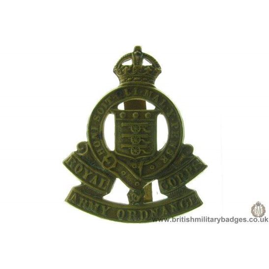 A1C/05 - Royal Army Ordnance Corps RAOC Cap Badge