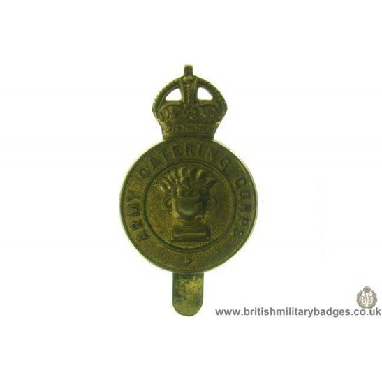 A1C/08 - Army Catering Corps ACC Cap Badge