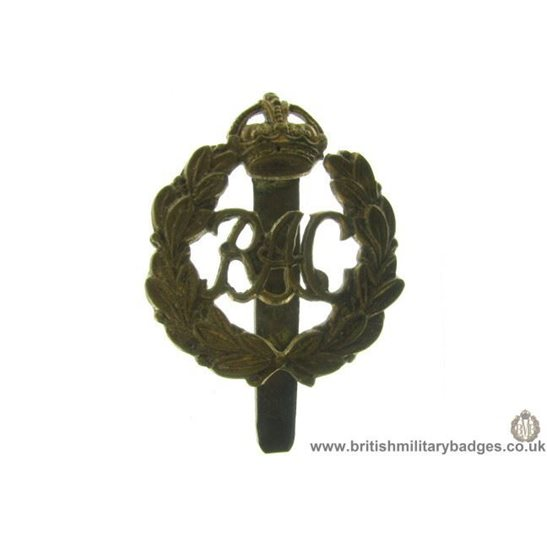 A1C/22 - Royal Armoured Corps RAC Cap Badge