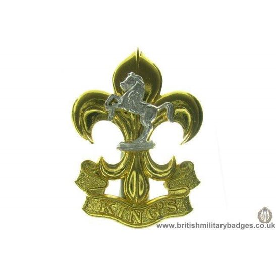 A1C/63 - The Kings (Manchester & Liverpool) Regiment Cap Badge