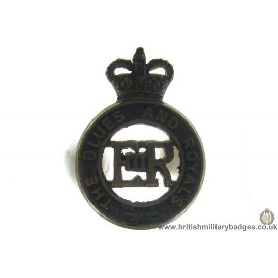 A1C/65 - The Blues & Royals Regiment Cap Badge - QC