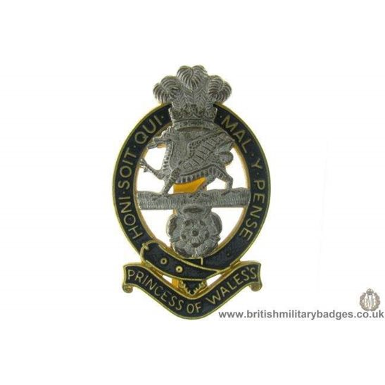 A1C/67 - Princess of Wales's Royal Regiment Cap Badge