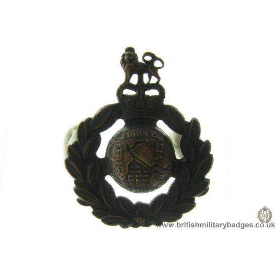 A1C/72 - Royal Marines Corps / Regiment Cap Badge - QC