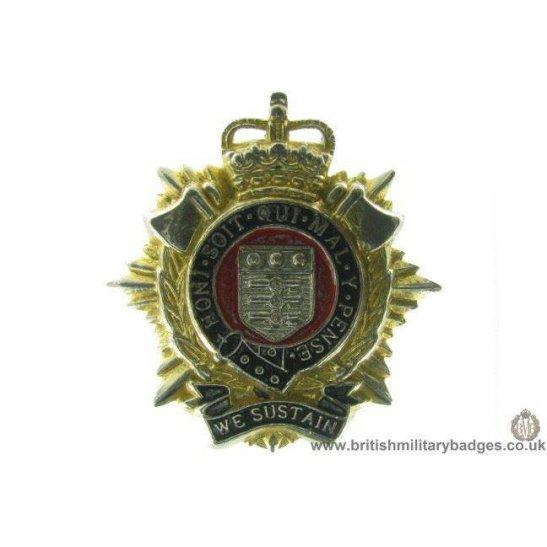 A1C/76 - Royal Logistics Corps RLC Cap Badge - QC