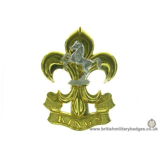 A1C/77 - The Kings (Manchester & Liverpool) Regiment Cap Badge