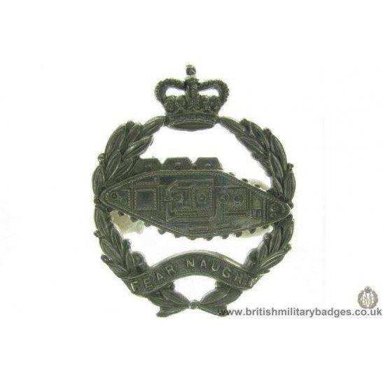 A1C/84 - Royal Tank Corps / Regiment Cap Badge - QC