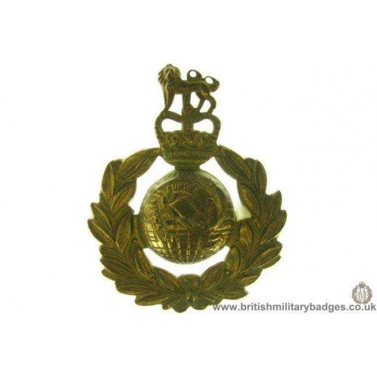 A1C/85 - Royal Marines Corps / Regiment Cap Badge - QC