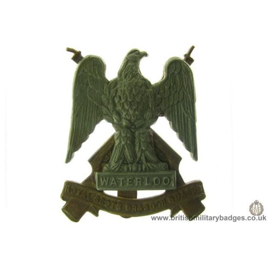 A1D/07 - Royal Scots Dragoon Guards Regiment Cap Badge