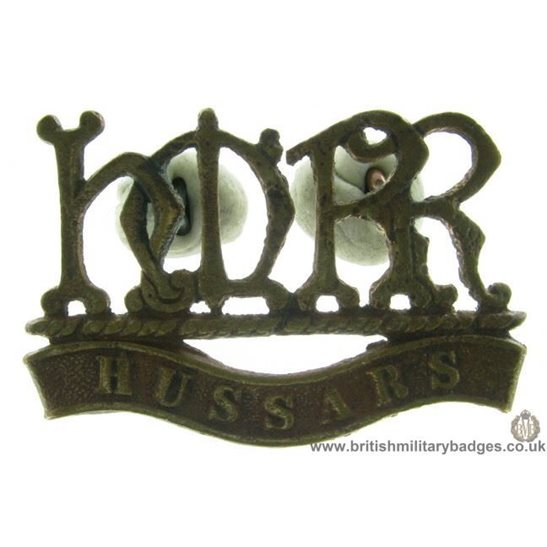 A1D/15 Her Majestys Hussars Reserve Regiment HMRR Shoulder Title