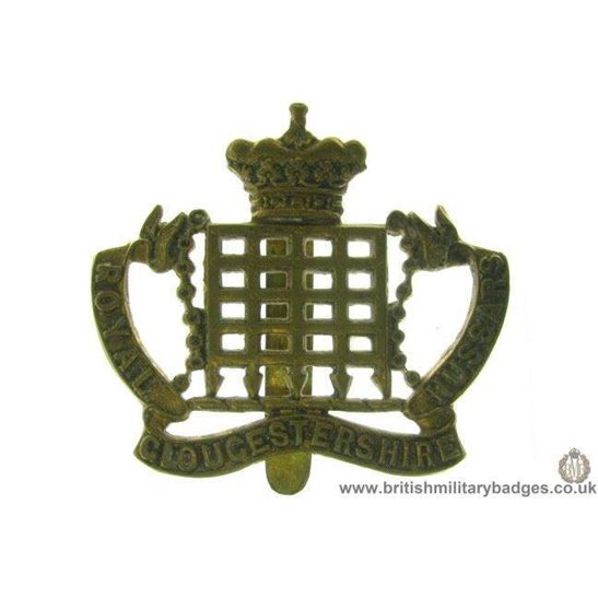 A1D/17 -  Royal Gloucestershire Hussars Regiment Cap Badge