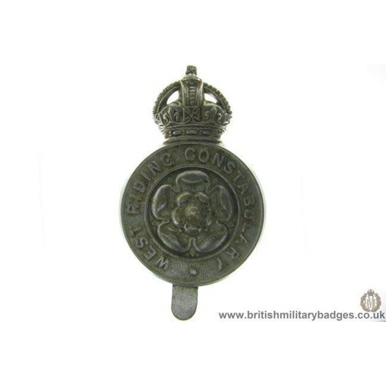 A1D/18 -  West Riding Constabulary Police Cap Badge