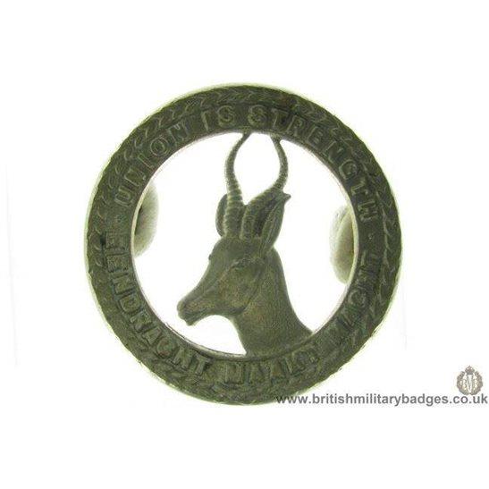 A1D/19 -  South African Corps / Africa Division Cap Badge